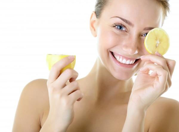 Zitrone-Frau
