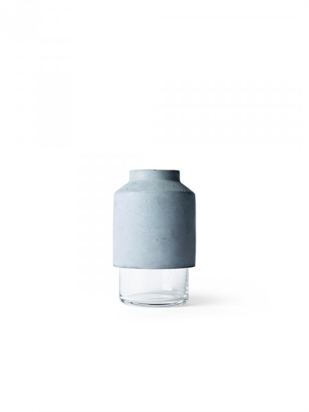 Willmann Vase, light Grey