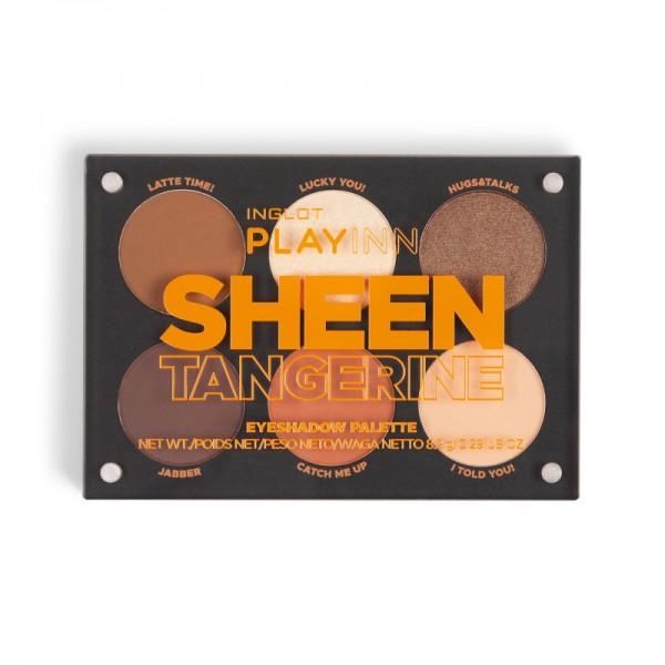 Sheen Tangerine Palette